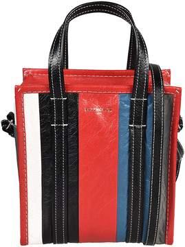 Balenciaga Striped Shopper Bag
