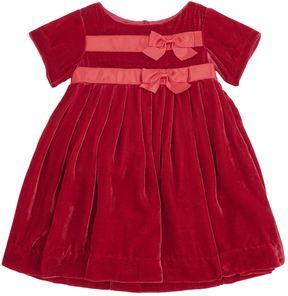 Rachel Riley Bow Velvet Dress