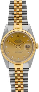Rolex Pre-Owned 36mm Datejust Two-Tone Jubilee Watch
