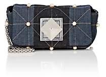 Sonia Rykiel Women's Le Copain Small Denim Chain Shoulder Bag - Blue