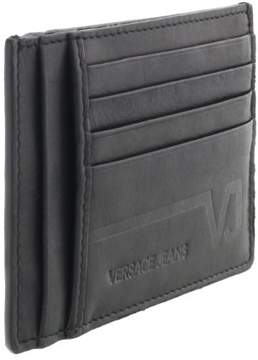 Versace EE3YQBPC4 E899 Black Compact Wallet