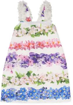 Halabaloo Floral Striped Dress