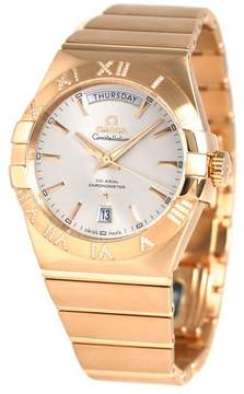Omega Constellation 2009 Day Date 38mm Watch 12355382202001