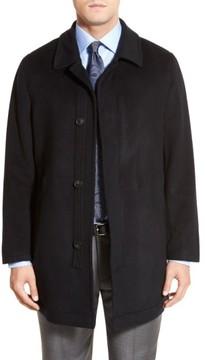 Hart Schaffner Marx Men's Douglas Modern Fit Wool & Cashmere Overcoat
