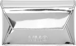 MM6 MAISON MARGIELA Silver Foldover Card Holder