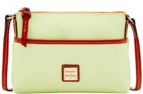 Dooney & Bourke Pebble Grain Ginger Pouchette Shoulder Bag - KEY LIME - STYLE