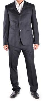 Richmond Men's Blue Wool Suit.