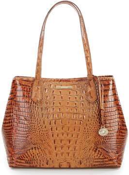 Brahmin Toasted Almond Collection Medium Julian Tote