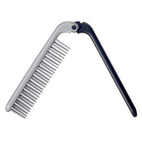Kent Folding Nylon Brush - Two-Tone - KFM4