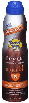 Banana Boat UltraMist Continuous Spray Sunscreen, Dry Oil, SPF 8