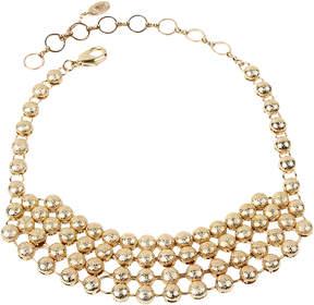 Amrita Singh Goldtone Kinari Bib Necklace