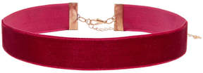 ELOQUII Wide Velvet Choker Necklace