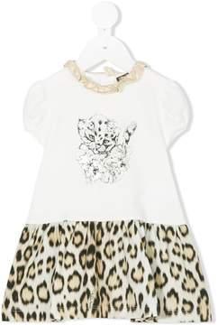 Roberto Cavalli printed T-shirt dress