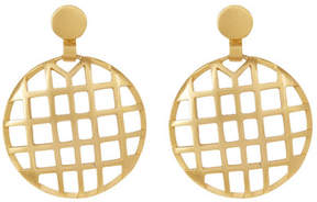 Botkier Round Cage Drop Earrings