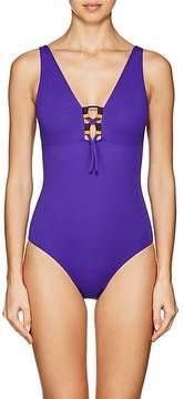 Eres Women's Marie-Amélie Lace-Up One-Piece Swimsuit