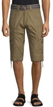 ProjekRaw Classic Cotton Cargo Shorts