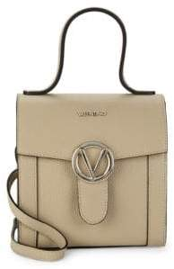 Mario Valentino Agnes Leather Satchel Bag