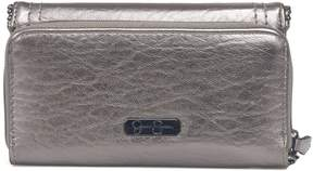 Jessica Simpson Camile Metallic Flap Wallet