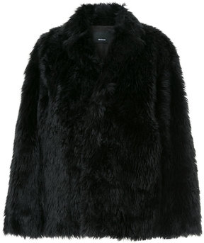 08sircus faux fur oversized jacket