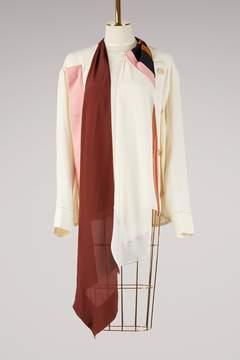 Marni Tie collar blouse