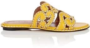 Derek Lam Women's Issa Leather Slide Sandals