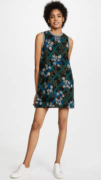 Anna Sui Rose Trellis Dress