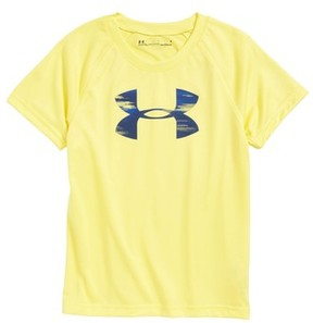 Under Armour Toddler Boy's Accelerate Big Logo Heatgear T-Shirt