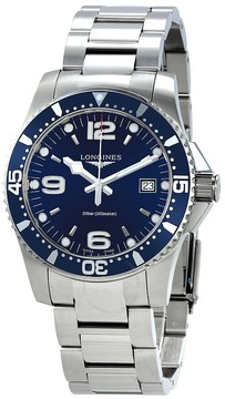 Longines HydroConquest Blue Dial Men's Watch