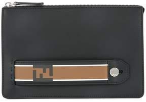 Fendi FF-logo clutch bag