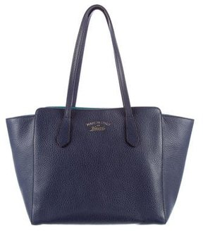 Gucci Small Swing Tote - BLUE - STYLE