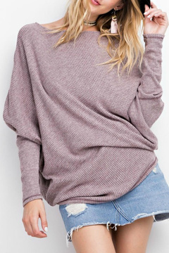 Easel Off-The-Shoulder Thermal