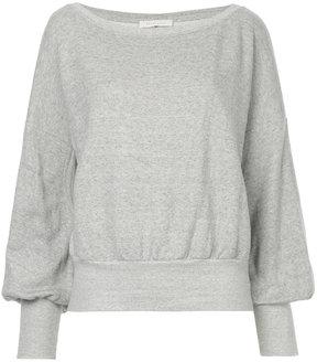 ESTNATION fitted cuff sweatshirt