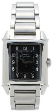 Girard Perregaux 2591 Stainless Steel Black Dial 24mm Womens Watch
