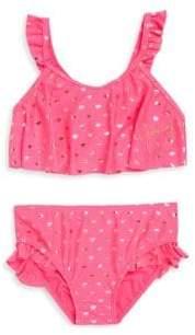 Juicy Couture Little Girl's Two-Piece Heart-Print Bikini
