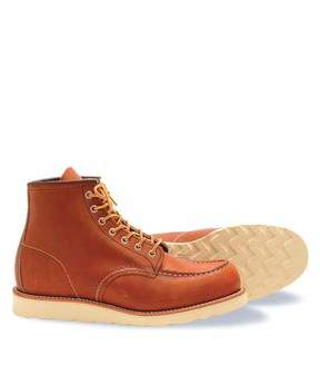 Red Wing Shoes Moc Toe Boot in Brown