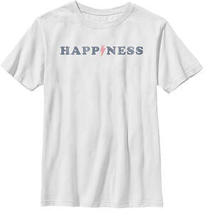 Fifth Sun White 'Happiness' Crewneck Tee - Youth