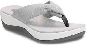 Clarks Women's Arla Gilson Wedge Flip Flop