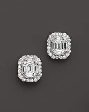 Bloomingdale's Certified Fancy Cut Diamond Stud Earrings in 14K White Gold, 1.50 ct. t.w. - 100% Exclusive
