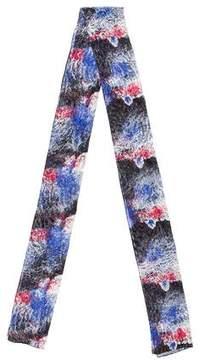 Balenciaga Printed Silk-Blend Scarf