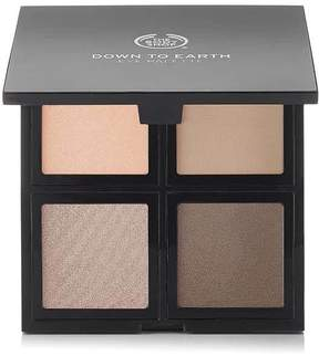 The Body Shop Down To Earth Eyeshadow Quads