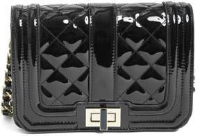 GUESS Kaylee Patent Faux-Leather Crossbody