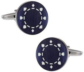 Bed Bath & Beyond Cufflinks in Poker Chip