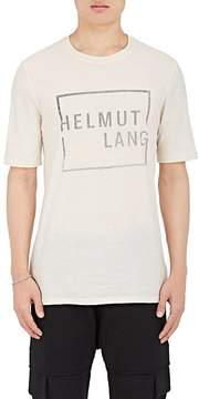 Helmut Lang Men's Logo-Print Cotton Jersey T-Shirt
