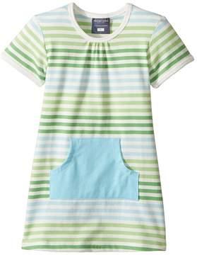 Toobydoo Short Sleeve Pocket Dress (Infant/Toddler)