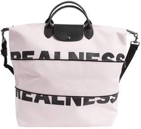 Longchamp Cloth travel bag - PINK - STYLE