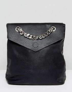Missguided Statement Chain Backpack