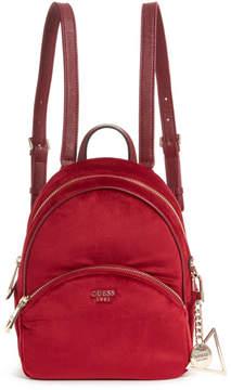 GUESS Brandyn Small Velvet Backpack