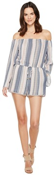 Brigitte Bailey Elfi Off the Shoulder Romper Women's Jumpsuit & Rompers One Piece
