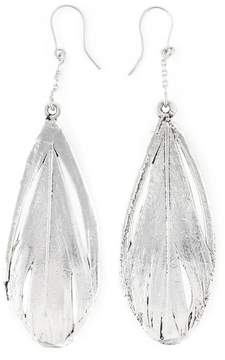 Aurelie Bidermann 'Swan' feather earrings