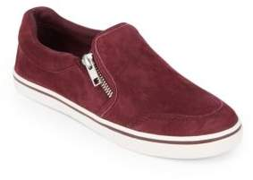 Lauren Ralph Lauren Jeorgia Suede Slip-On Sneakers